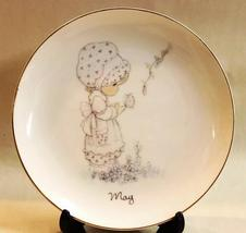 Precious Moments May Collector's Plate 1983 Jonathan & David - $12.95
