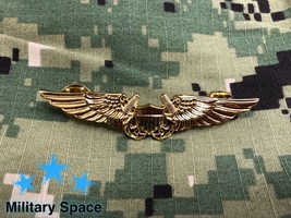 Mini Original Us Navy Naval Flight Officer Insignia Pin Badge - $16.81
