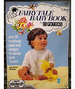 Vintage 20 KNITTING Patterns BABY- 3 YEARS Old FAIRY TALES  - $9.95
