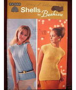 RETRO Vintage Patons KNITTING and CROCHET PATTERNS Ladies SWEATERS SHELLS  - $4.95
