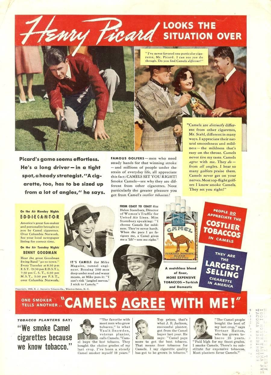 time magazine golfer johnny goodman june 6 1938 rare