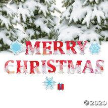 Merry Christmas Yard Sign - $169.98