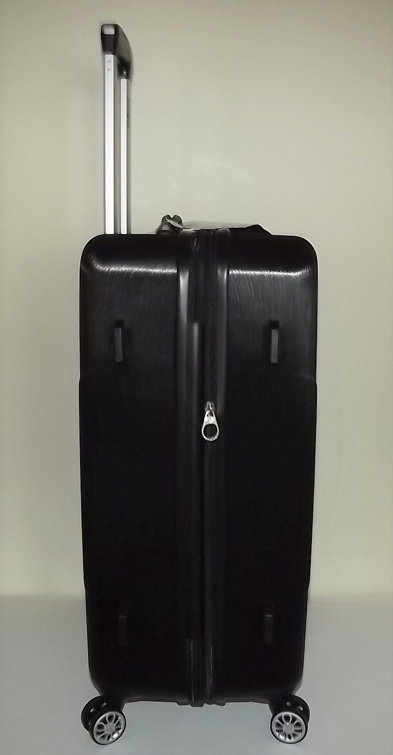 "NEW SAMSONITE BROCKTON DIAMOND 24""  ABS EXPANDABLE 4 WHEEL SPINNER LUGGAGE BLACK"