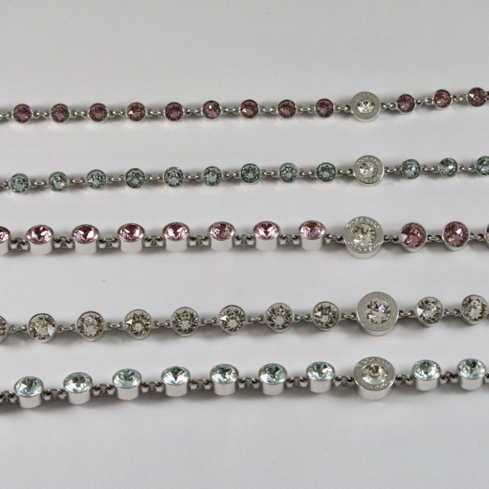 Bracelet Rebecca Bronze with Crystals Colourful Brilliant Cut