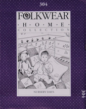 Folkwear Nursery Days Baby Home Collection #304 Sewing Pattern Only folkwear304 - $16.95