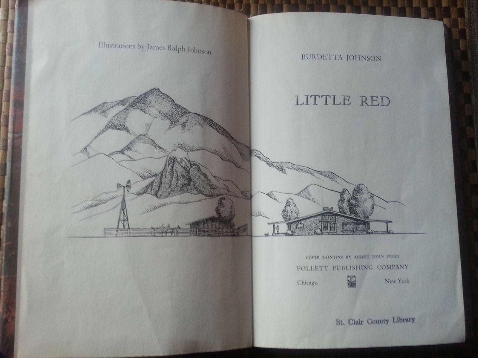 Little Red by Burdetta Johnson 1966 HBDJ Wild Pig,s Adventures