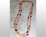 Pink bead necklc  2  thumb155 crop