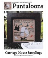 Pantaloons cross stitch chart Carriage House Samplings - $9.00