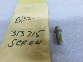 H5A Evinrude Johnson OMC 313715 Trim Tab Screw OEM New Factory Boat Parts - $7.61