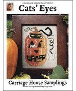 Cat's Eyes cross stitch chart Carriage House Samplings - $9.00