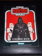 Vintage 1982 Star Wars the Empire Strikes Back Coloring Book Free Shipping - $29.99
