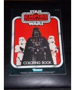 Vintage 1982 Star Wars the Empire Strikes Back Coloring Book Free Shipping - $23.99