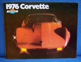 1976 Chevrolet Corvette Color Sales Brochure - Original New Old Stock - $9.50