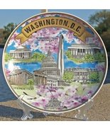 National Mall with Cherry Blossoms on Porcelain Pate with Stand - Washin... - $19.99