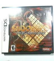 Sudokuro Nintendo DS Sodoku Katuro Games Complete 2 Games in 1 - $9.06