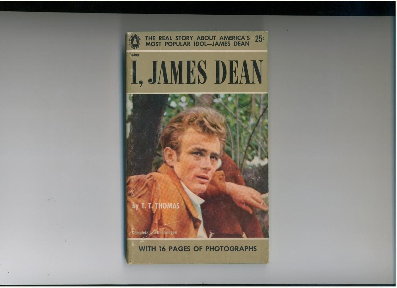 Primary image for Thomas - I, JAMES DEAN - 1957 - 16 pages of photos