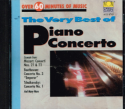 Best of Piano Concerto Cd - $10.50