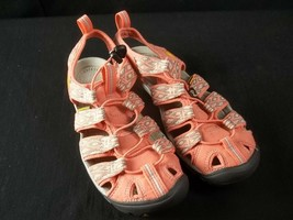 Womens Keen Waterproof Sandals Water Sport Trail Hikers Size 7 Peach - $25.69