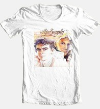 Air Supply T-shirt classic 80's retro soft rock 100% cotton graphic white tee image 2