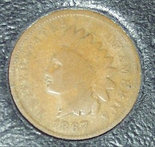 1867 Indian Head Cent Semi-Key G4 #0952 - $41.99