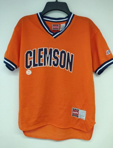 66c0617a9 Vintage Rawlings Youth Clemson Tigers Jersey and 27 similar items. 12