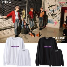 KPOP WANNA ONE Sweater 1-1=0 Ablum Pullover Nothing without you  Casual ... - $9.50+