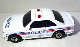 Matchbox Rescue 911 Police Mercedes 500 Sec Die Cast Car 1984 Fair Condition - $34.65