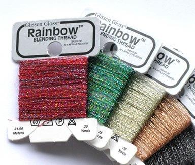 Glissen Gloss Rainbow Assortment 20 bobbins Glissen Gloss