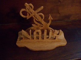 Wooden Navy display - $20.00