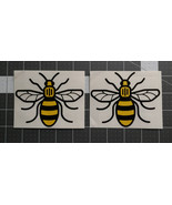 Manchester Bee Symbol Vinyl Decal two color great for your car truck win... - $4.00+