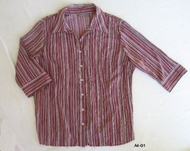 APT. 9 Woman Size 2X Striped Blouse - $10.99