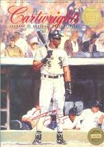 1992 frank thomas autograph signed cartwrights magazine chicago white soxs rare - $99.99