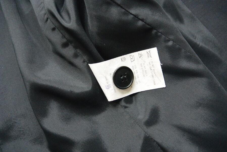 Giorgio Armani Le Collezioni Blazer 6 S Black Women Wool Blend Made in Italy