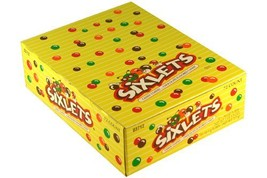 Sixlets Candy Coated Chocolate Candy 72 Tubes - $22.11