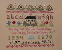 4 All Seasons Sampler Series-Spring Part 1 cross stitch chart The Stitching Bear
