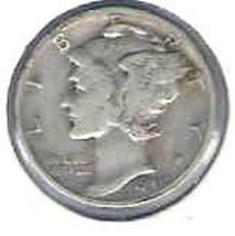 Nice 1940 S Mercury Dime - $4.00