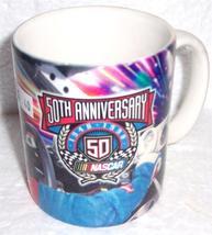 (1) NEW Nascar Racing 50th Anniversary 1948 - 1998 Commemorative Coffee Mug - $24.99