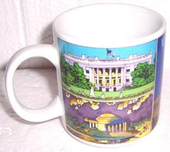 An item in the Collectibles category: (1) Washington D.C Nation Capital White House Monument USA Souvenir Coffee Mug