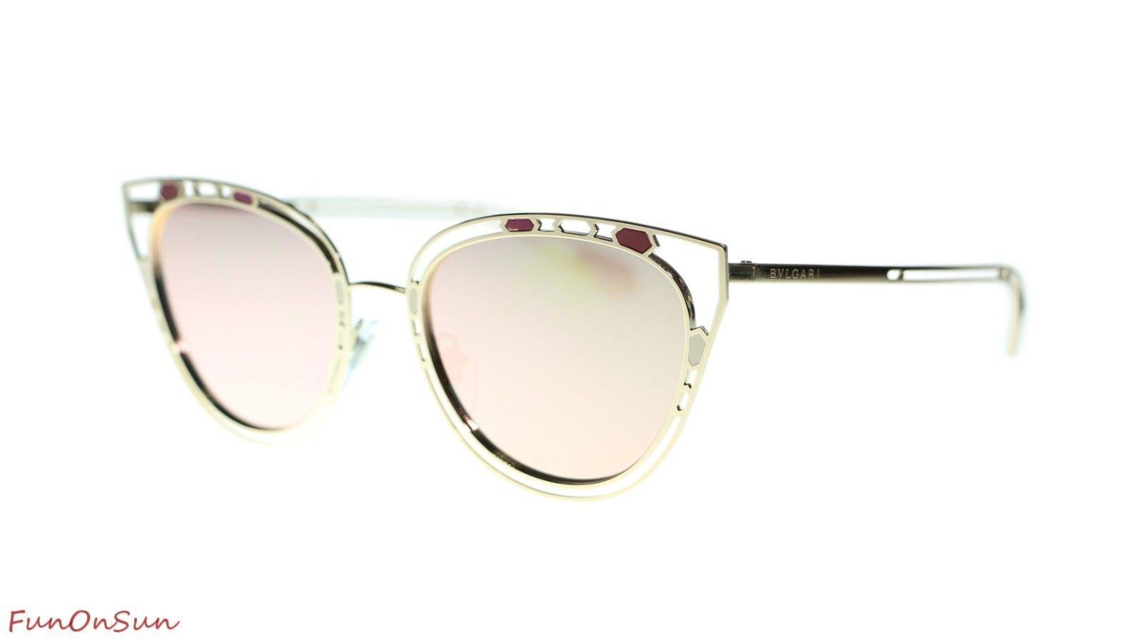 6b0d3a8300c BVLGARI Cat Eye Sunglasses BV6104 20144Z and 21 similar items. 10