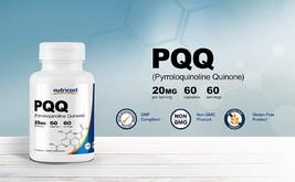 Nutricost PQQ (Pyrroloquinoline Quinone) 20mg, 60 Capsules - High Quality - $53.53