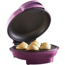Brentwood Appliances TS-252 Nonstick 7 Mini Cupcake Maker Machine (Pink) - $35.98