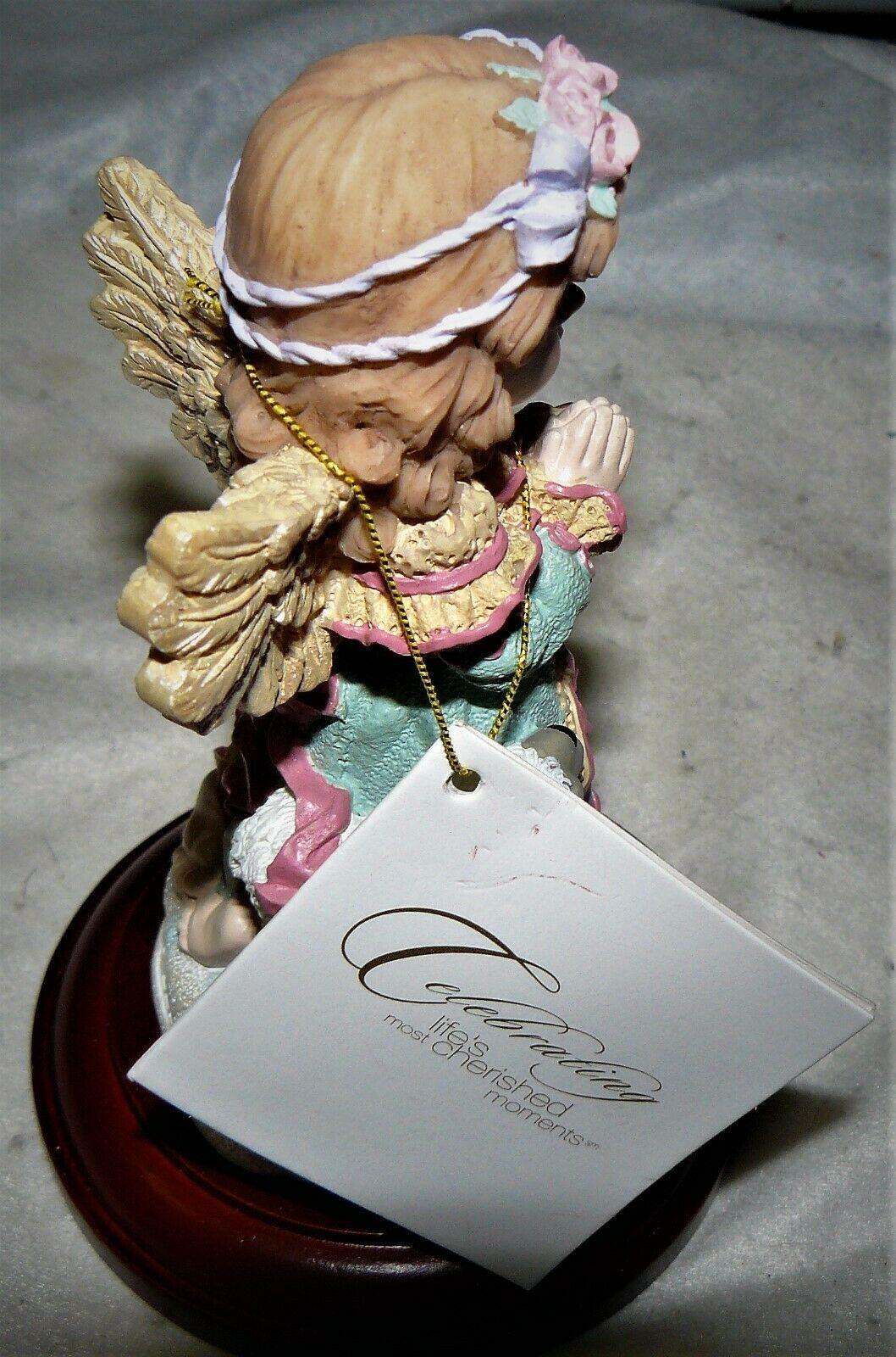 Life's Most Cherished Memories Christmas Around the World Praying Angel Figurine