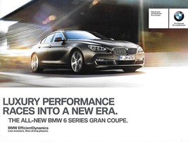 2013 BMW 6-SERIES GRAN COUPE sales brochure catalog folder 13 US 640i - $8.00