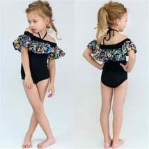 Baby Girl Flower Ruffle Bikini Set Kids Swimwear Swimsuit Bathing Suit B... - $10.19