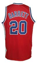 Mike Barrett #20 Virginia Squires Aba Retro Basketball Jersey New Red Any Size image 2