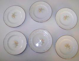 Noritake Anticipation Set Of Six Bread & Butter Plates - $39.99