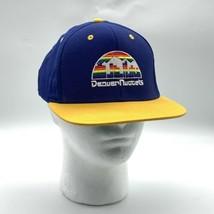 Adidas Hardwood Classics Denver Nuggets Rainbow Logo Snapback Hat - $19.75