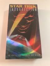 Star Trek VHS Insurrection The Battle For Paradise Has Begun - $9.74
