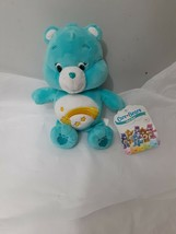 "TCFC Play Along Care Bears WISH BEAR 8"" Stuffed Bean Bag Plush - $12.82"