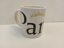 Vintage 2002 Paris France Starbucks Coffee City Mug Collector Series - $12.86